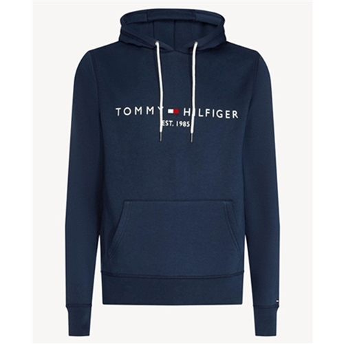 Tommy Hilfiger Navy - Flex Fleece Logo Hoodie  - Click to view a larger image