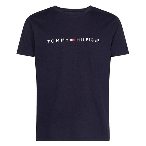 Tommy Hilfiger Navy - Organic Cotton T-Shirt  - Click to view a larger image