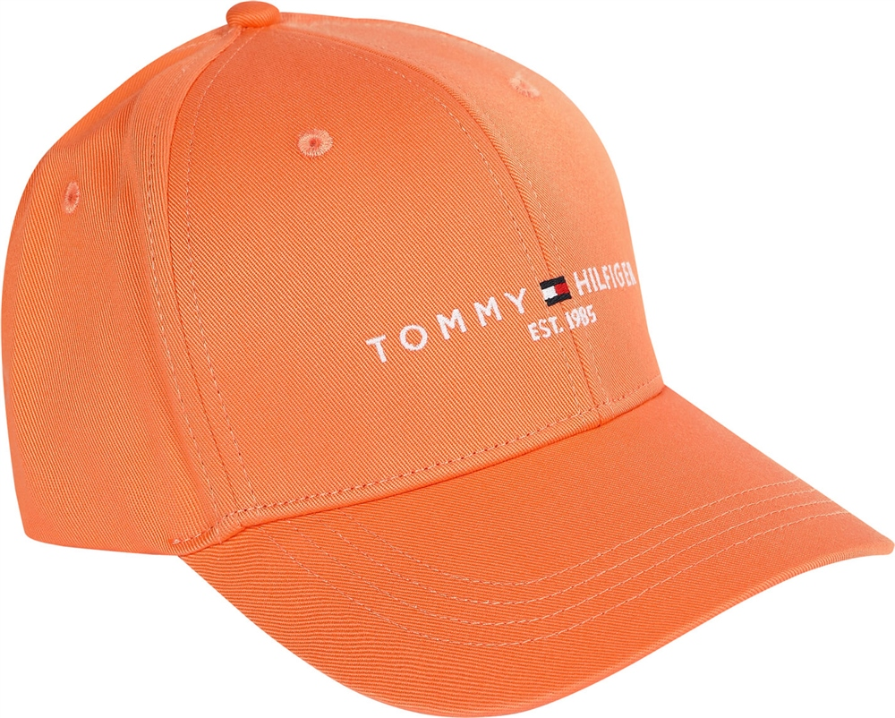 Tommy Hilfiger Orange - Th Establish Baseball Cap 1