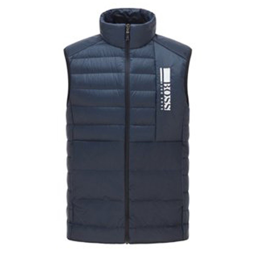 Hugo Boss Navy - Basalt Regular Fit Bodywarmer 1