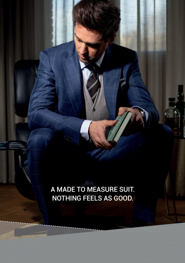 Made to Measure suits. Nothing feels as good