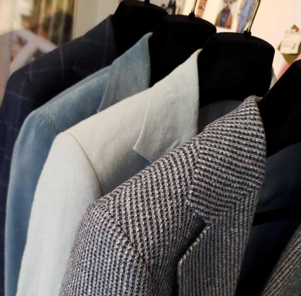 Many suits types to choose from